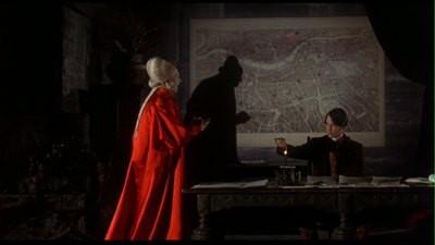 Gary Oldman con Keanu Reeves in una scena di Dracula di Bram Stoker