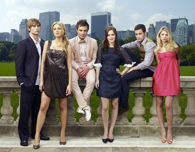 Il cast principale di Gossip Girl
