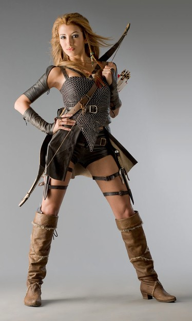 India de Beaufort in una foto promozionale della serie Kröd Mändoon and the Flaming Sword of Fire