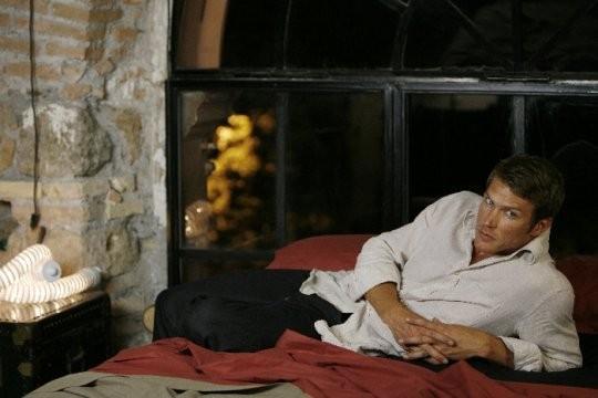 Jason Lewis sul set del film tv So che ritornerai