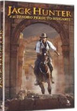 La copertina di Jack Hunter e il tesoro perduto di Ugarit (dvd)