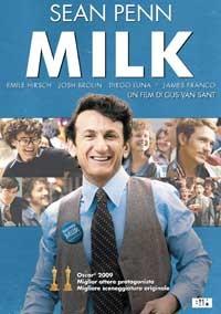 La copertina di Milk (dvd)