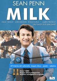 La copertina di Milk - Edizione speciale (dvd)
