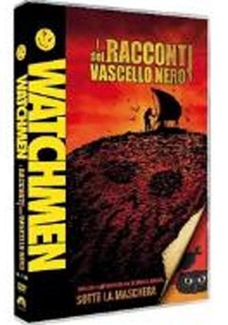 La copertina di Watchmen: i racconti del Vascello Nero (dvd)