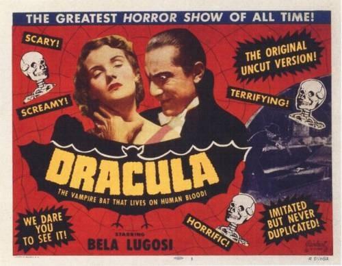 Lobbycard promozionale di Dracula