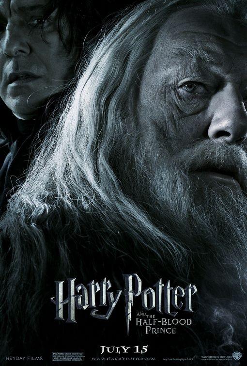 Nuovo Character Poster per Harry Potter e il principe mezzosangue - Albus Dumbledore & Severus Snape