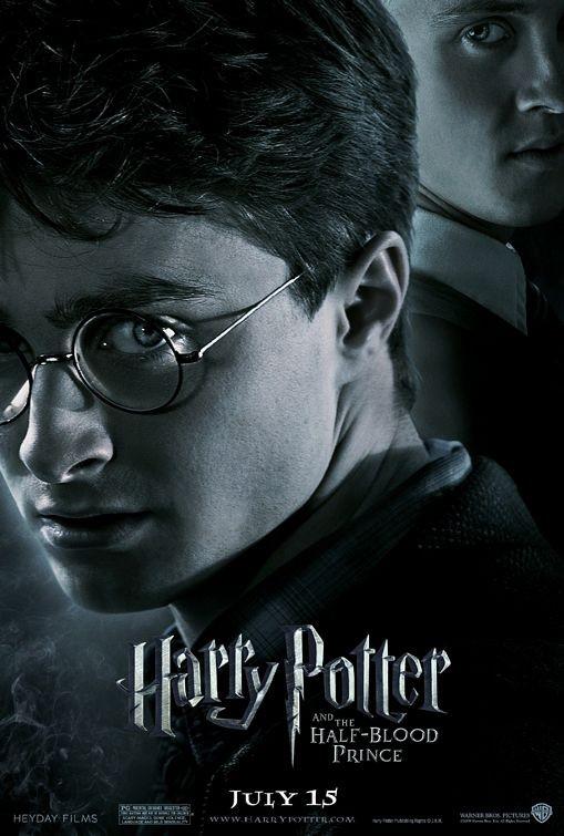 Nuovo Character Poster per Harry Potter e il principe mezzosangue - Harry Potter / Draco Malfoy