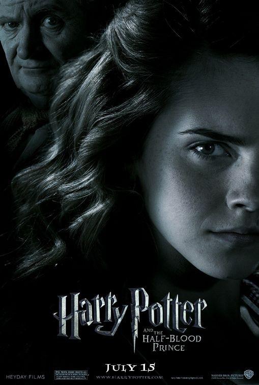 Nuovo Character Poster per Harry Potter e il principe mezzosangue - Hermione Granger & Horace Slughorn