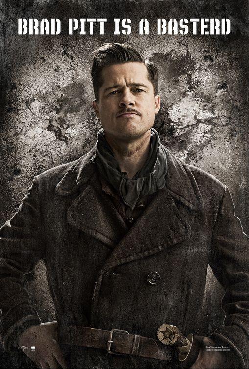 Character poster USA per Inglorious Basterds - Brad Pitt