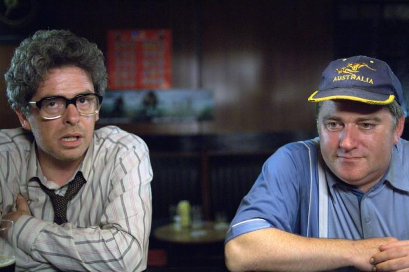 Pat Shortt in una scena del film Garage