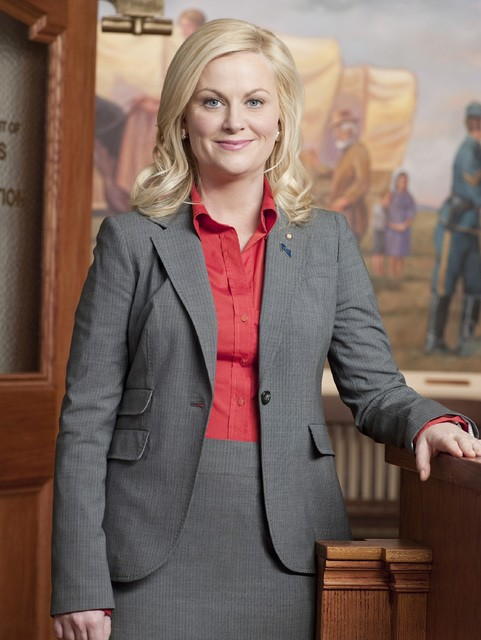 Amy Poehler è Leslie Knope in Parks and Recreation
