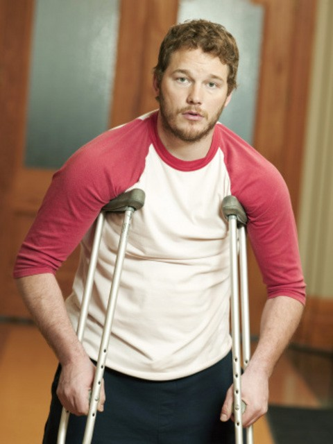 Chris Pratt è Andy in Parks and Recreation
