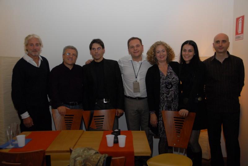 Davide Iannuzzi in occasione della presentazione film corto Un collier per Angelica