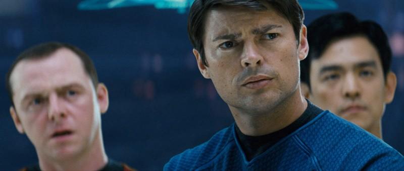 Karl Urban è il Dr. Leonard 'Bones' McCoy nel film Star Trek