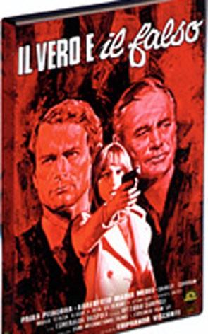 La copertina di Il vero e il falso (dvd)