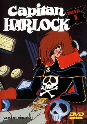La locandina di Capitan Harlock