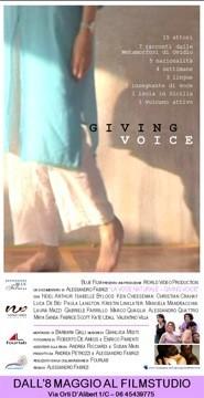 La locandina di Giving Voice - La voce naturale