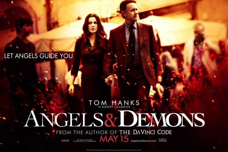 Lobbycard americana di Angeli e Demoni