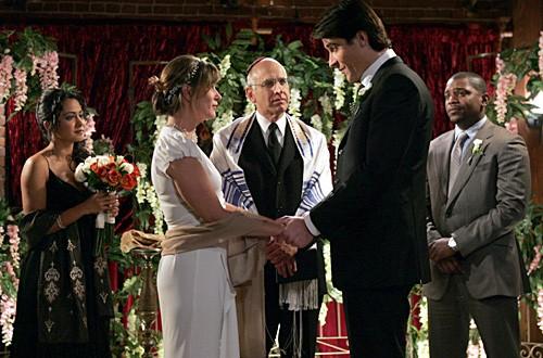 Parminder Nagra, Mekhi Phifer, Goran Visnjic e Maura Tiernery nell'episodio 'I Don't' della serie tv ER - Medici in prima linea