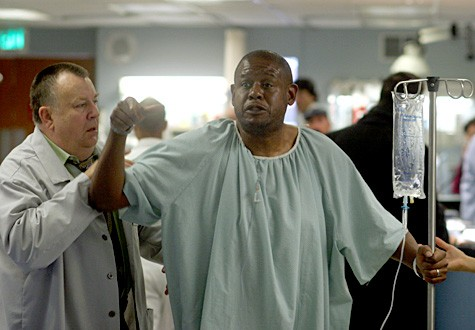 Troy Evans con Forest Whitaker nell'episodio 'Ames v. Kovac' della serie tv ER - Medici in prima linea
