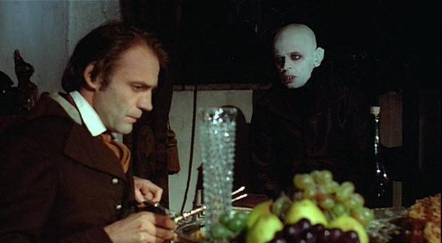 Bruno Ganz e Klaus Kinski in Nosferatu, principe della notte