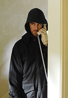 James Van Der Beek nel ruolo di Tobias Hankel in una scena dell'episodio 'Raphael - prima parte' della serie tv Criminal Minds