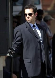 Jamie Elman in un momento dell'episodio ' Pianeta Vuoto ' della seconda stagione di Criminal Minds