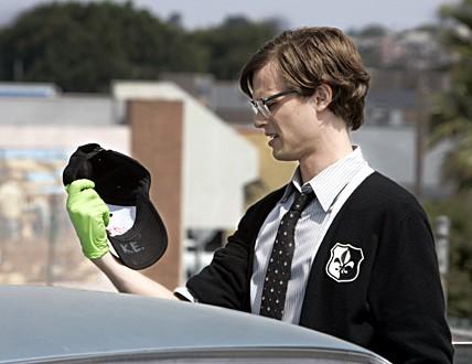 Matthew Gray Gubler in un momento dell'episodio 'North Mammon' della serie tv Criminal Minds