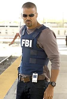 Shemar Moore nell'episodio 'Senza via d'uscita - il ritorno di Frank' della serie tv Criminal Minds
