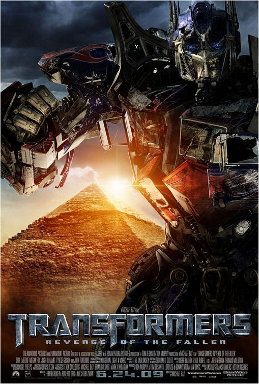 Terzo Character Poster USA per Transformers: Revenge of the Fallen