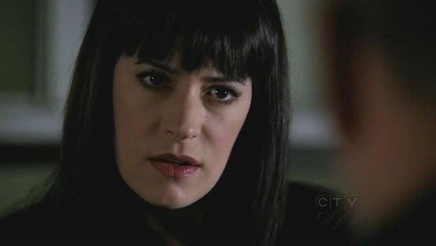 Paget Brewster nell'episodio 'Demonology' della quarta stagione di Criminal Minds