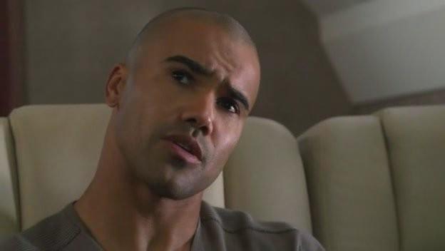 Shemar Moore in una scena dell'episodio 'Omnivore' della quarta stagione di Criminal Minds