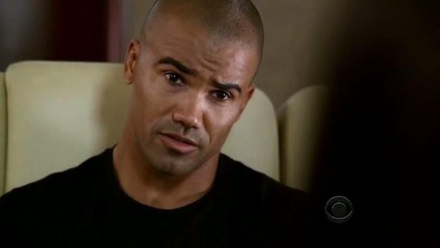 Shemar Moore nell'episodio 'Il conforto della morte' della serie tv Criminal Minds