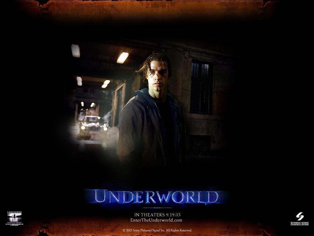 Un wallpaper di Scott Speedman nella parte di Michael nel film 'Underworld'