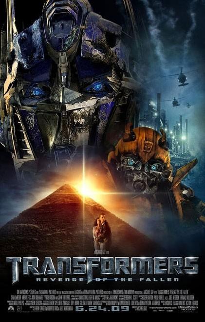 Locandina definitiva di Transformers - La vendetta del caduto