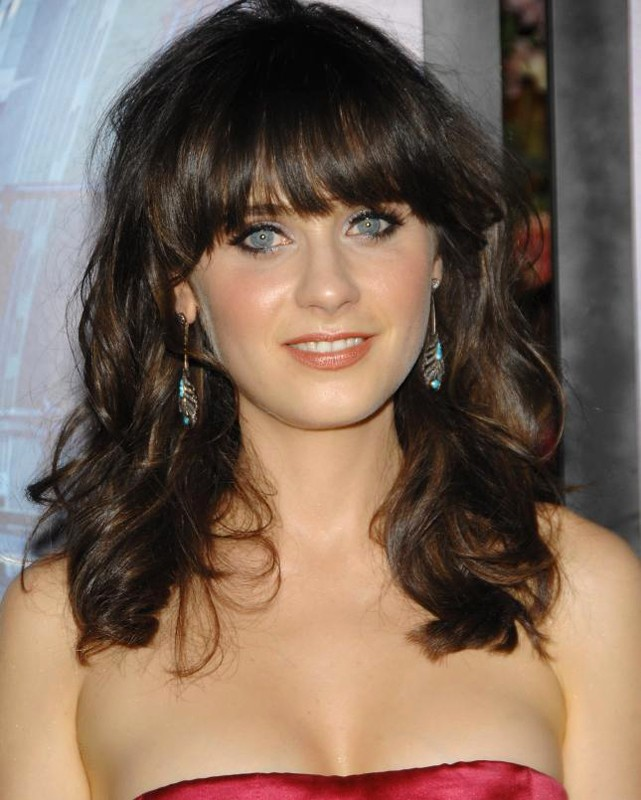 Primo piano di Zooey Deschanel