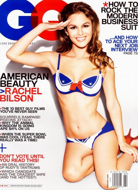Rachel Bilson sulla rivista GQ del 2008