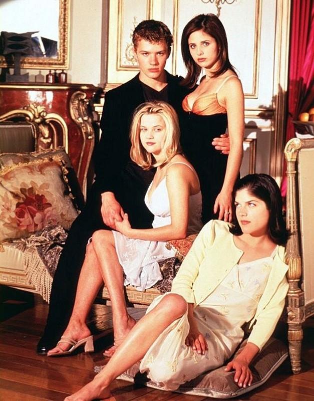 Foto promozionale del cast principale del film 'Cruel Intentions'
