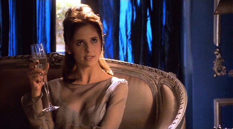 Sarah Michelle Gellar in una scena del film 'Cruel Intentions'