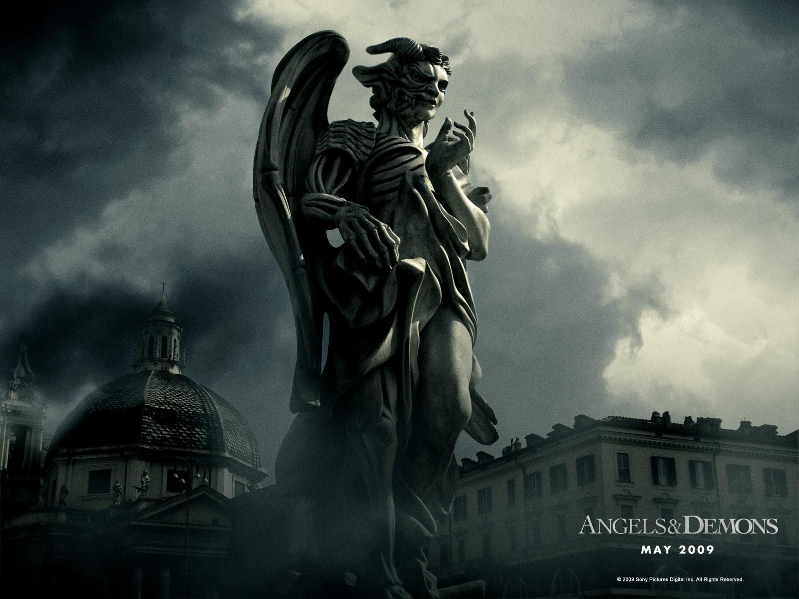 Wallpaper del film 'Angeli e Demoni'