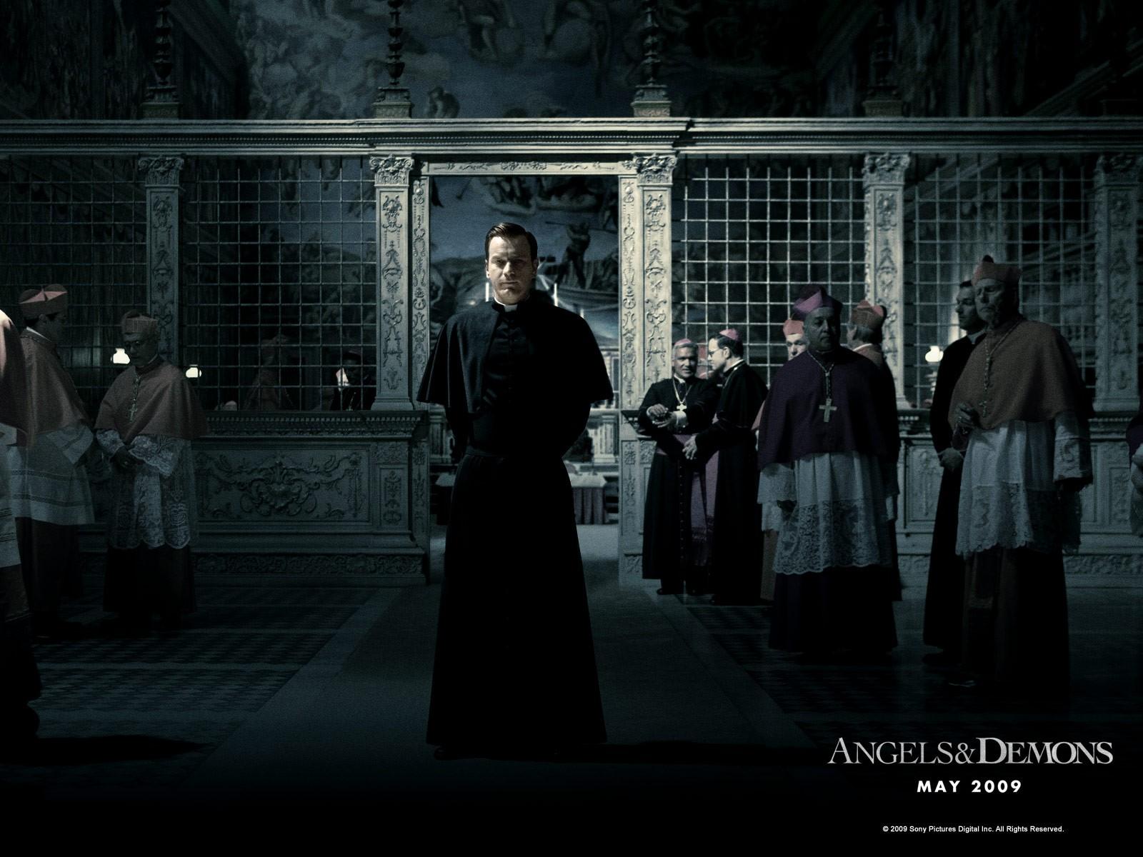 Wallpaper di Ewan McGregor nel film 'Angeli e Demoni'