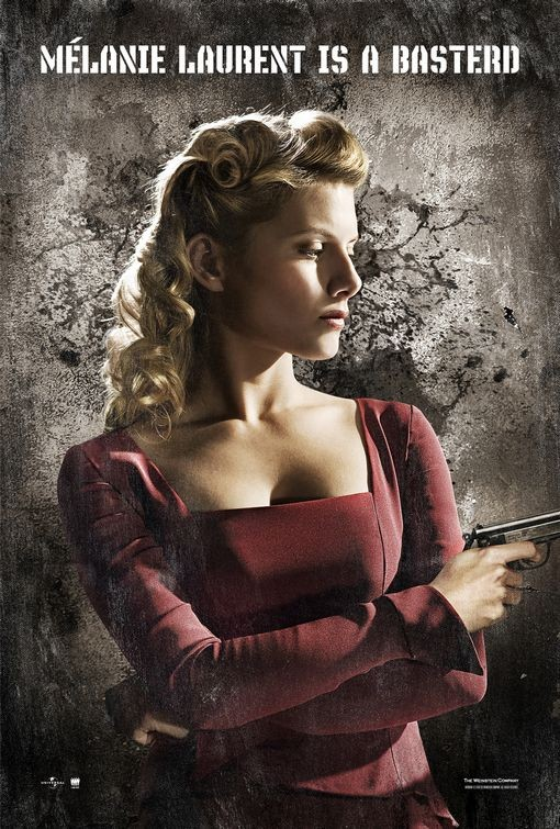 Character poster USA per Inglorious Basterds - Melanie Laurent