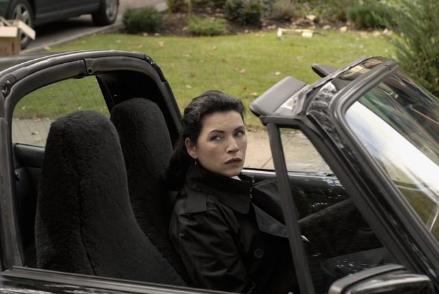 Julianna Margulies in una scena della serie Canterbury's Law