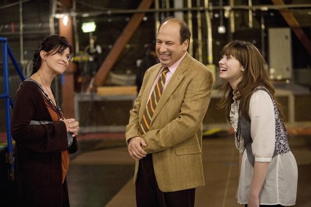 Michael Kostroff, Nancy McKeon e Demi Lovato nell'episodio Cheater Girls di Sonny tra le stelle