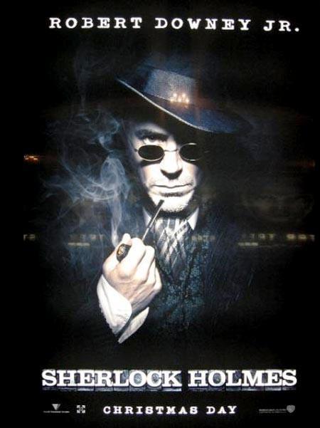 Prima locandina di Sherlock Holmes
