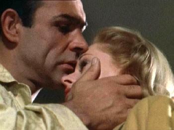 Sean Connery e Tippi Hedren in una scena di Marnie