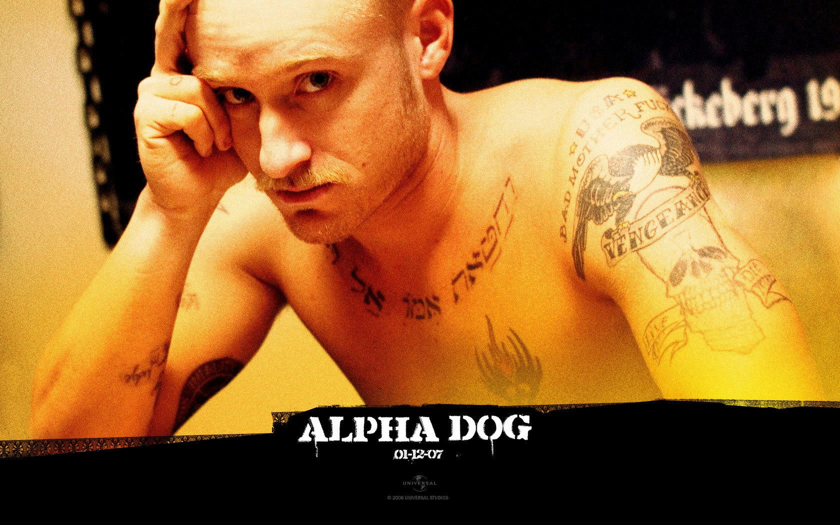 Un wallpaper di Ben Foster nel film 'Alpha Dog'