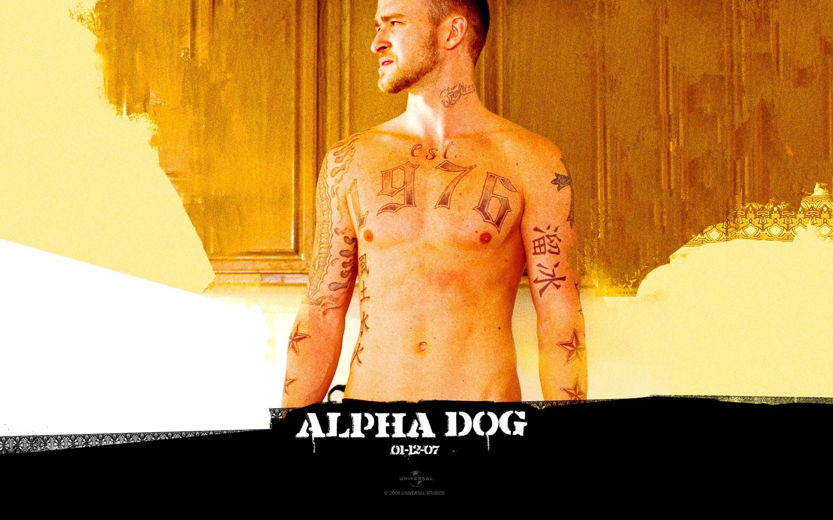 Un sexy wallpaper di Frankie interpretato da Justin Timberlake in 'Alpha Dog'