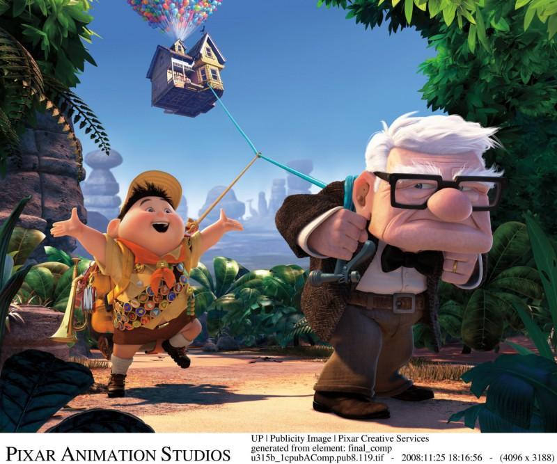 Una immagine di Up, il film della Pixar che ha aperto Cannes 2009