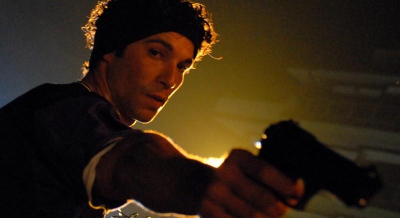 Francesco Venditti in un'immagine del film Polvere